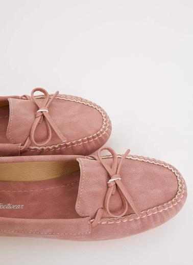 DeFacto Kurdele Detaylı Loafer Ayakkabı Oranj